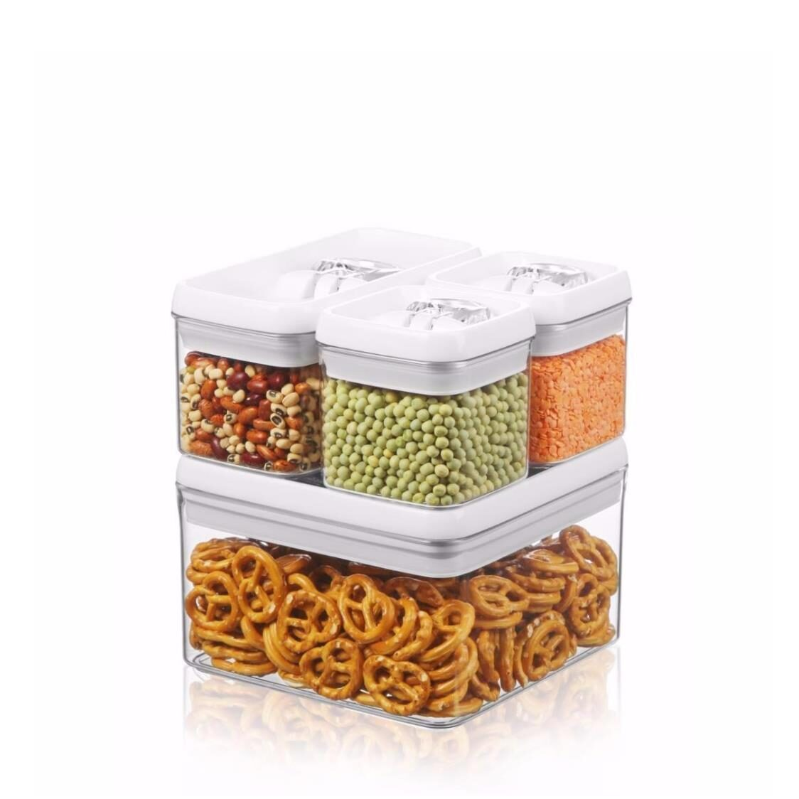Flip-Tite Storage Container 4pc Set