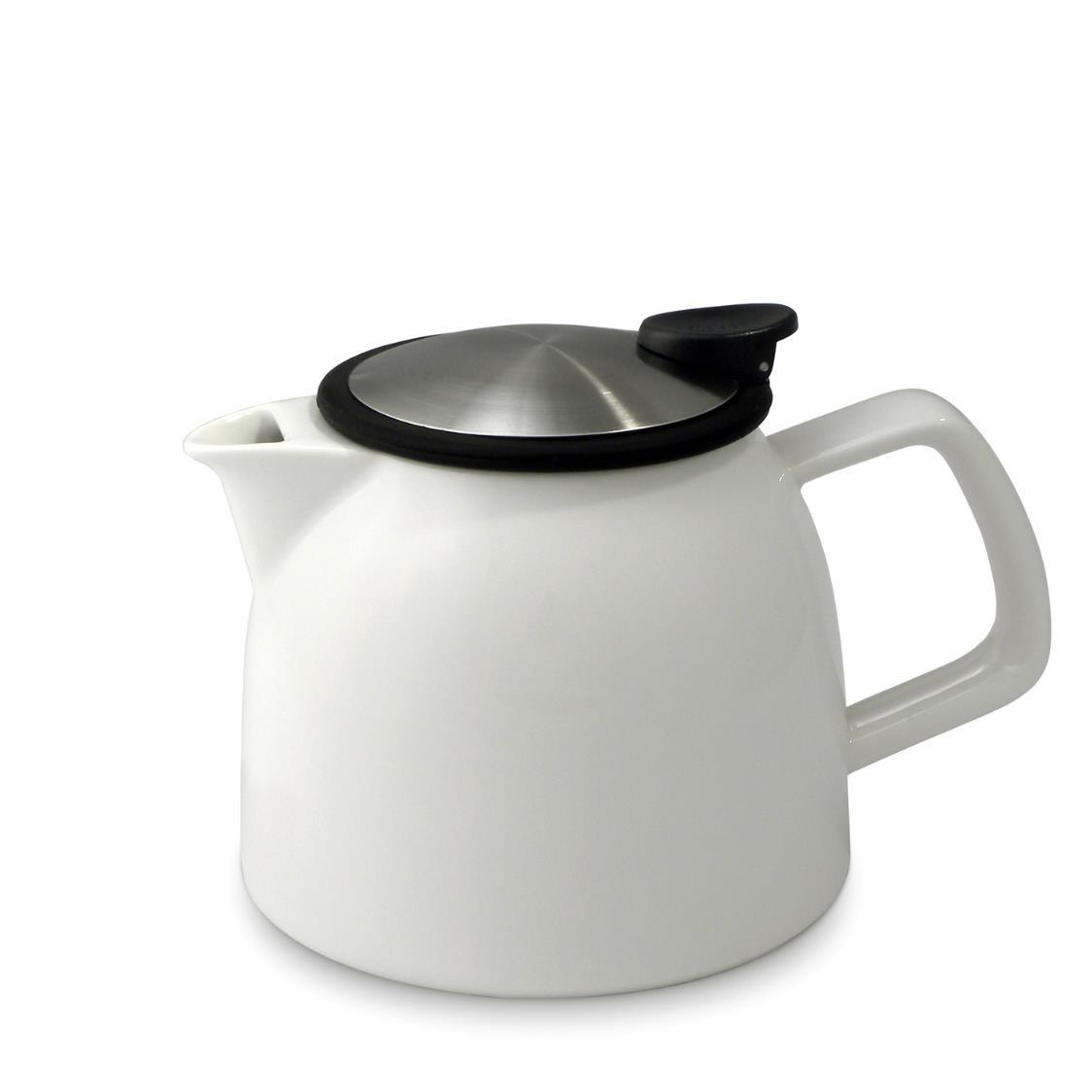 Bell Teapot with Basket Infuser 770ml FL544-WHT