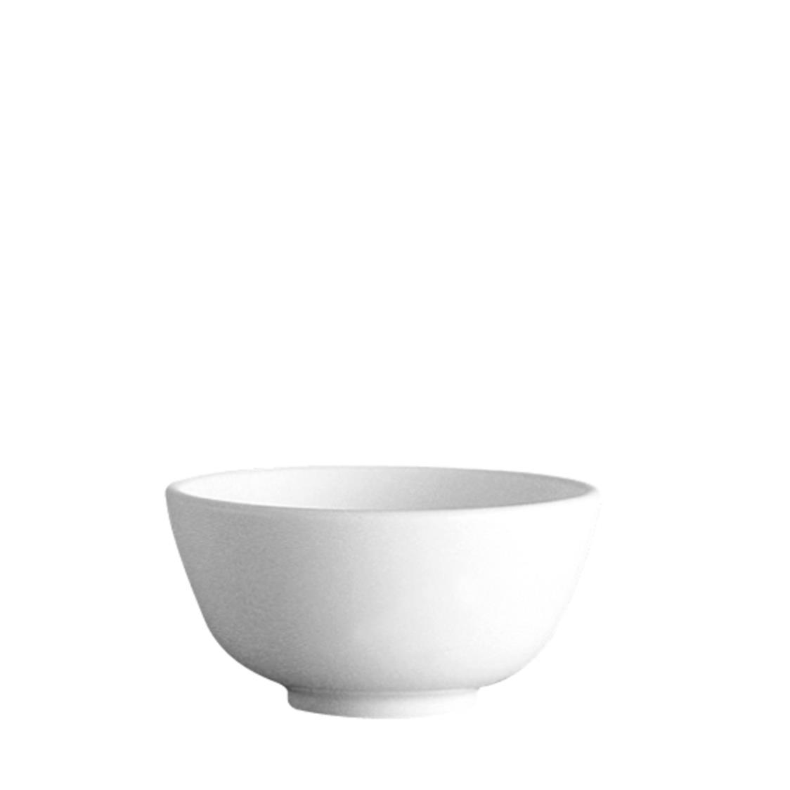 Chinese Rice Bowl Winter Frost White