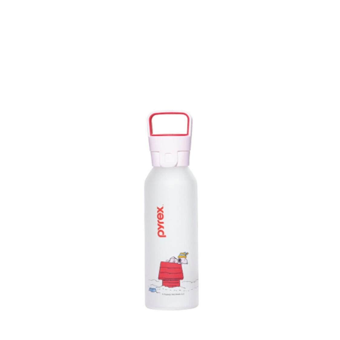 Pyrex Snoopy x Water Bottle 450ml Design Peanuts Snoopy