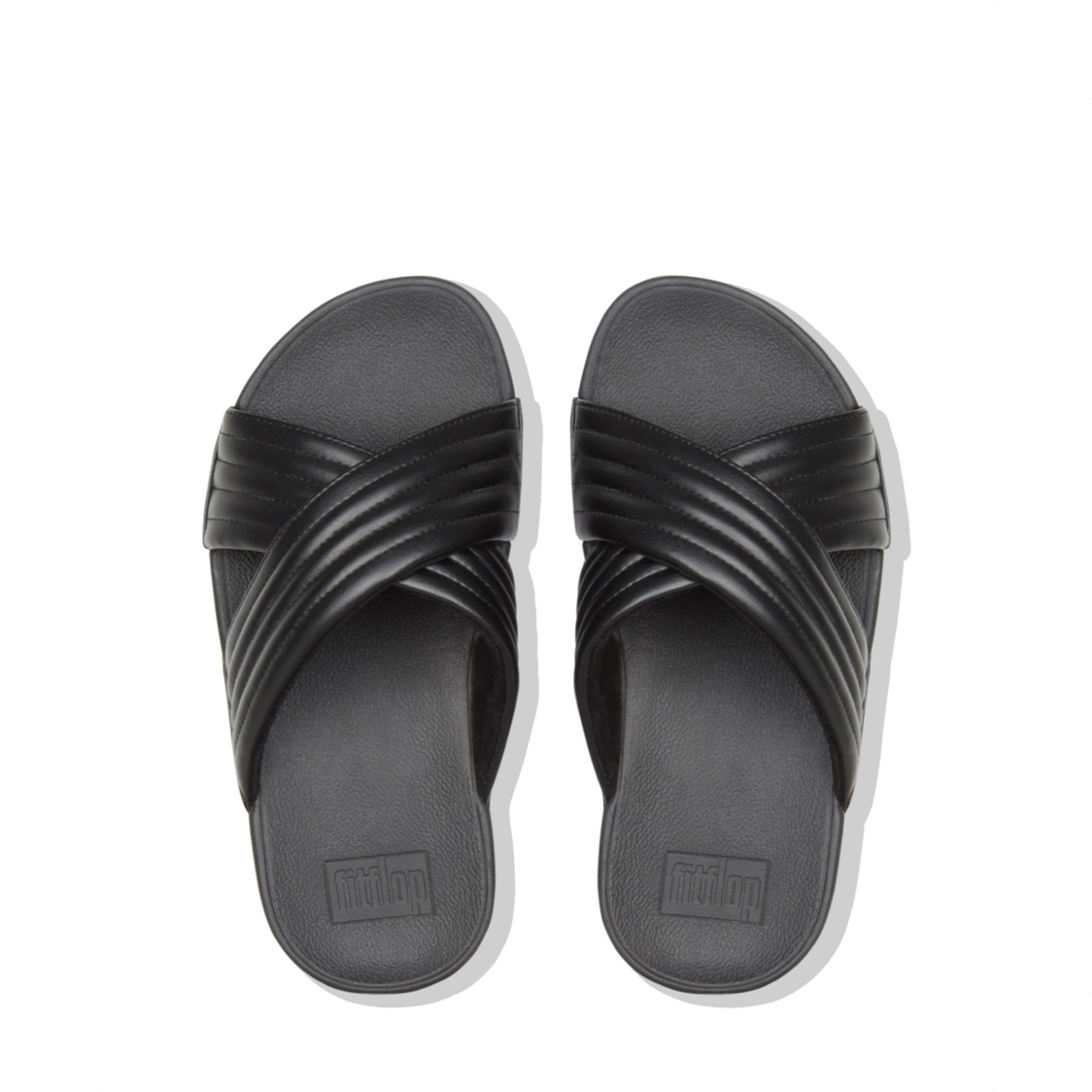 Lulu Padded Slide Black