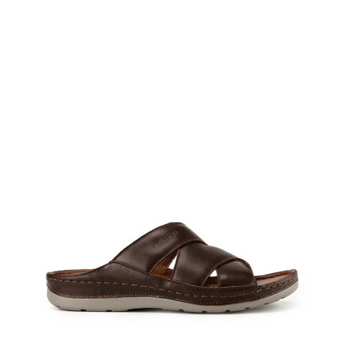 Gino Phips 3 Strap Brown
