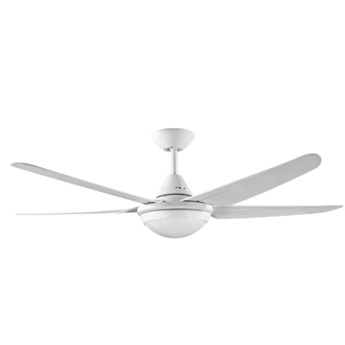 Brisbane Ceiling Fan With Remote And Tri-Color Led Light Kit White 52