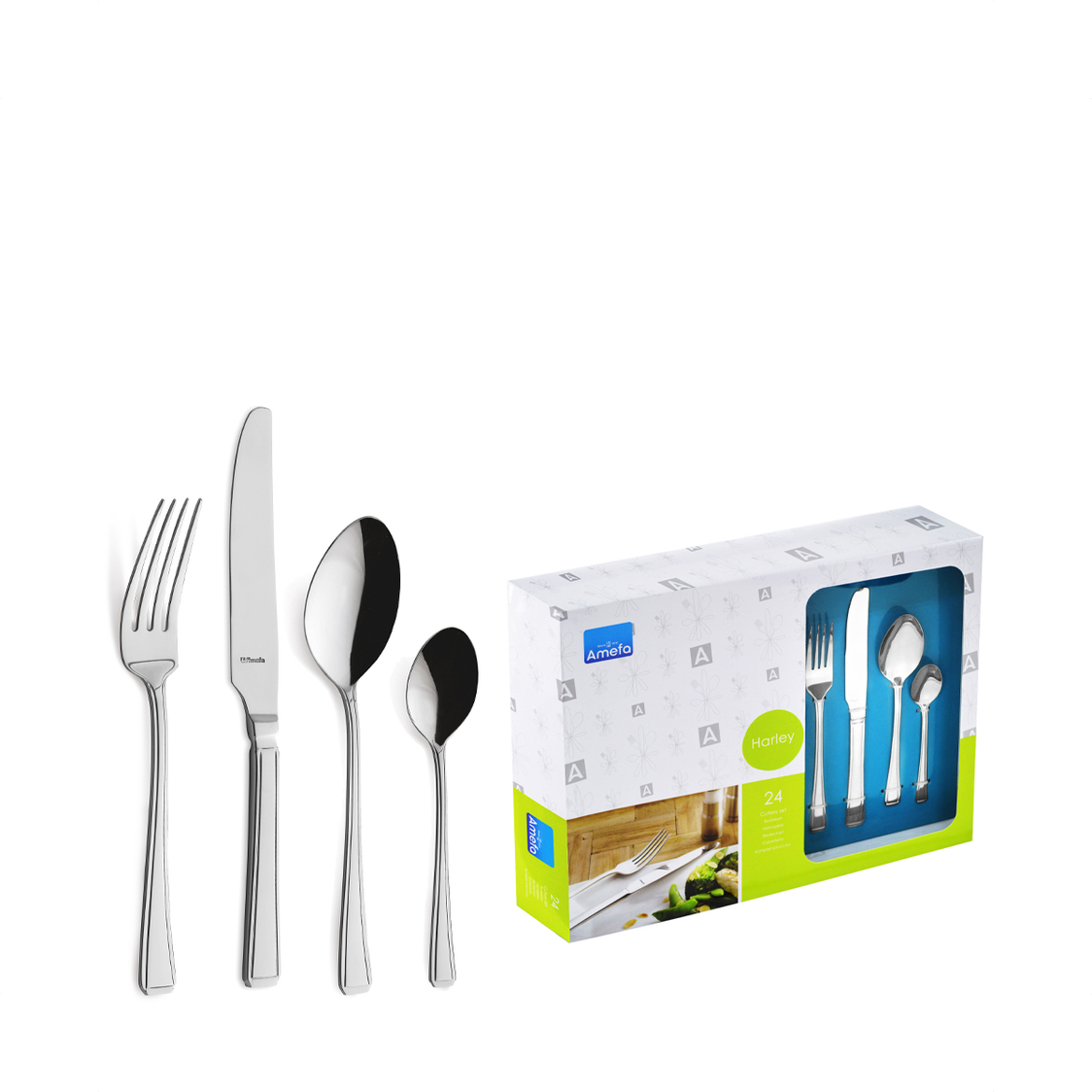 Richardson Sheffield Harley 24pc Casual Dining Cutlery Set A-6220
