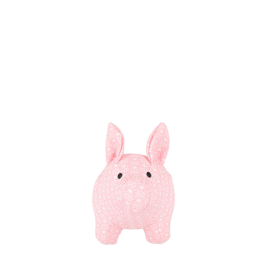 Mascot Pigsy Decoration in Pink Floral