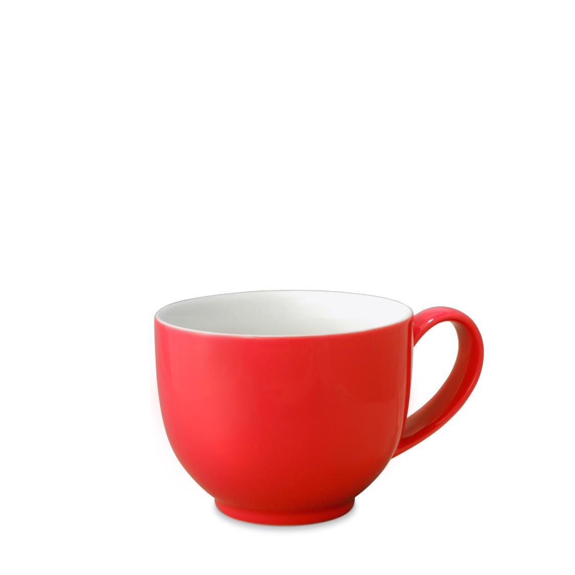 Q Tea Cup with Handle 295ml FL521-RED