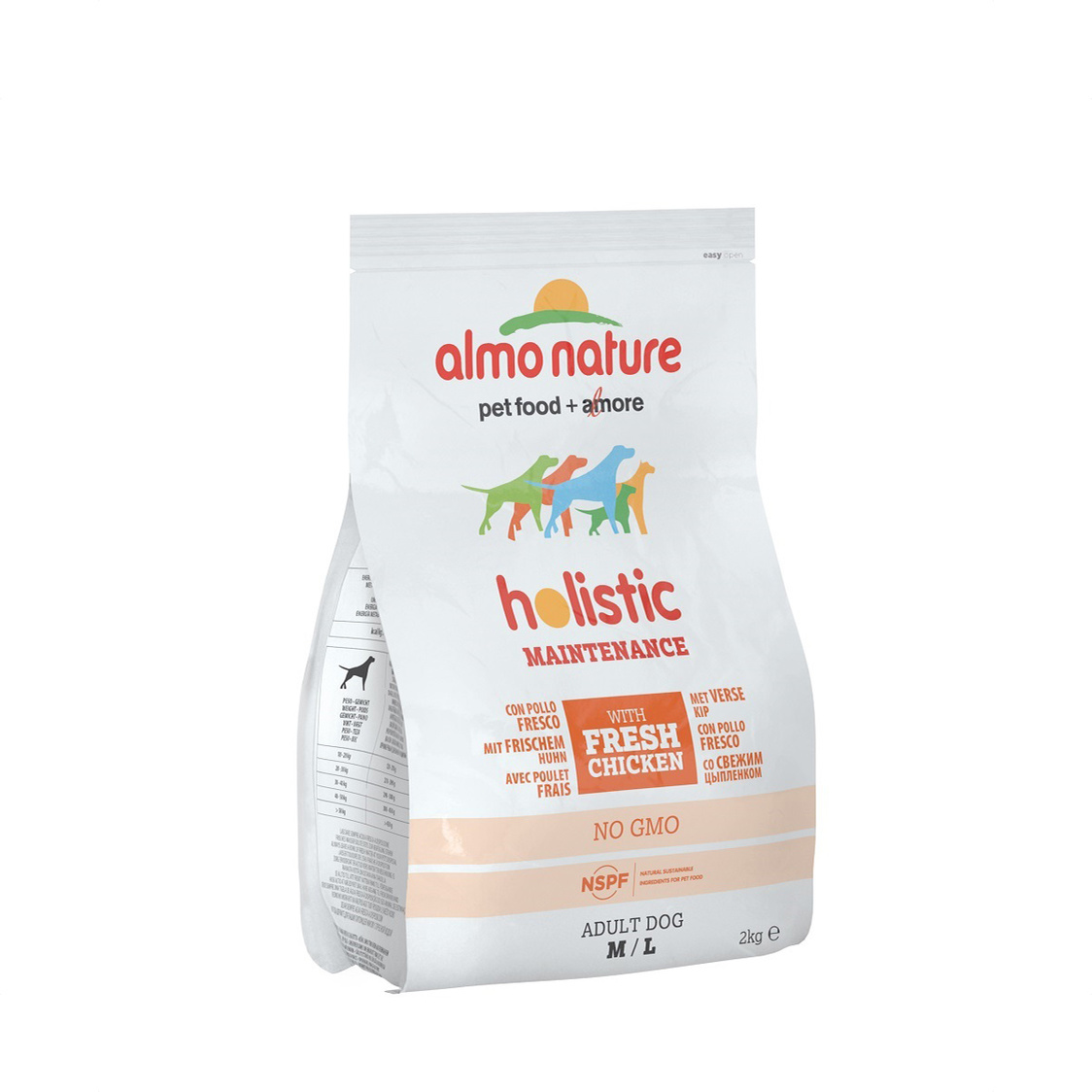 Holistic Dog M Chicken 2kg