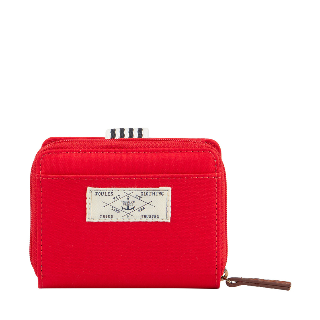 Tom Joule Coast Foldover Purse Chinese Red