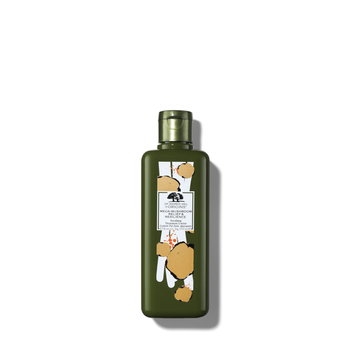 Limited Edition Dr Andrew Weil for Origins Mega-Mushroom Relief  Resilience Soothing Treatment Lotion 200ml