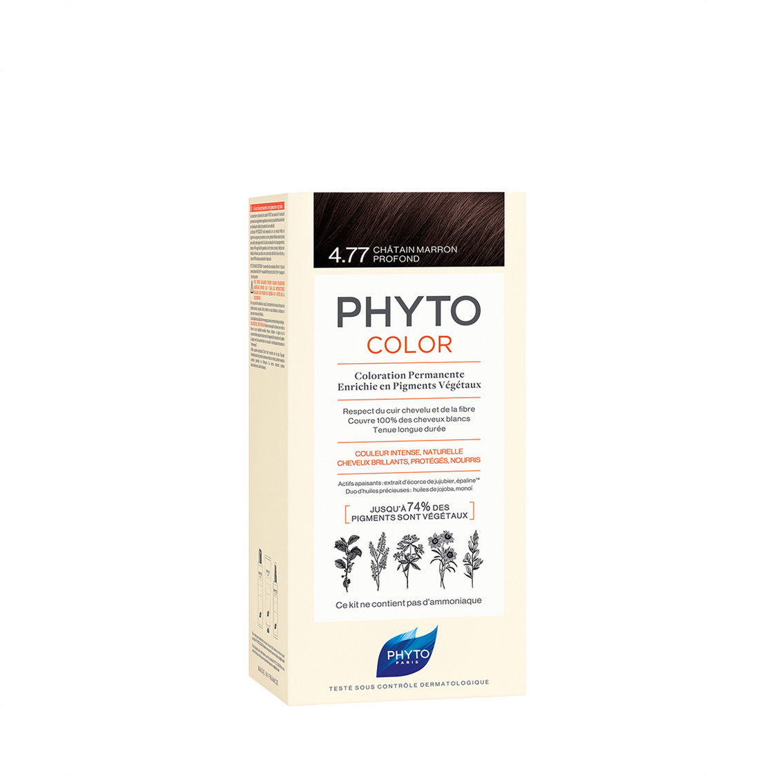 Phytocolor 477 Intense Chestnut Brown Col Cr 50ml  Lot 50ml PH10019A99926