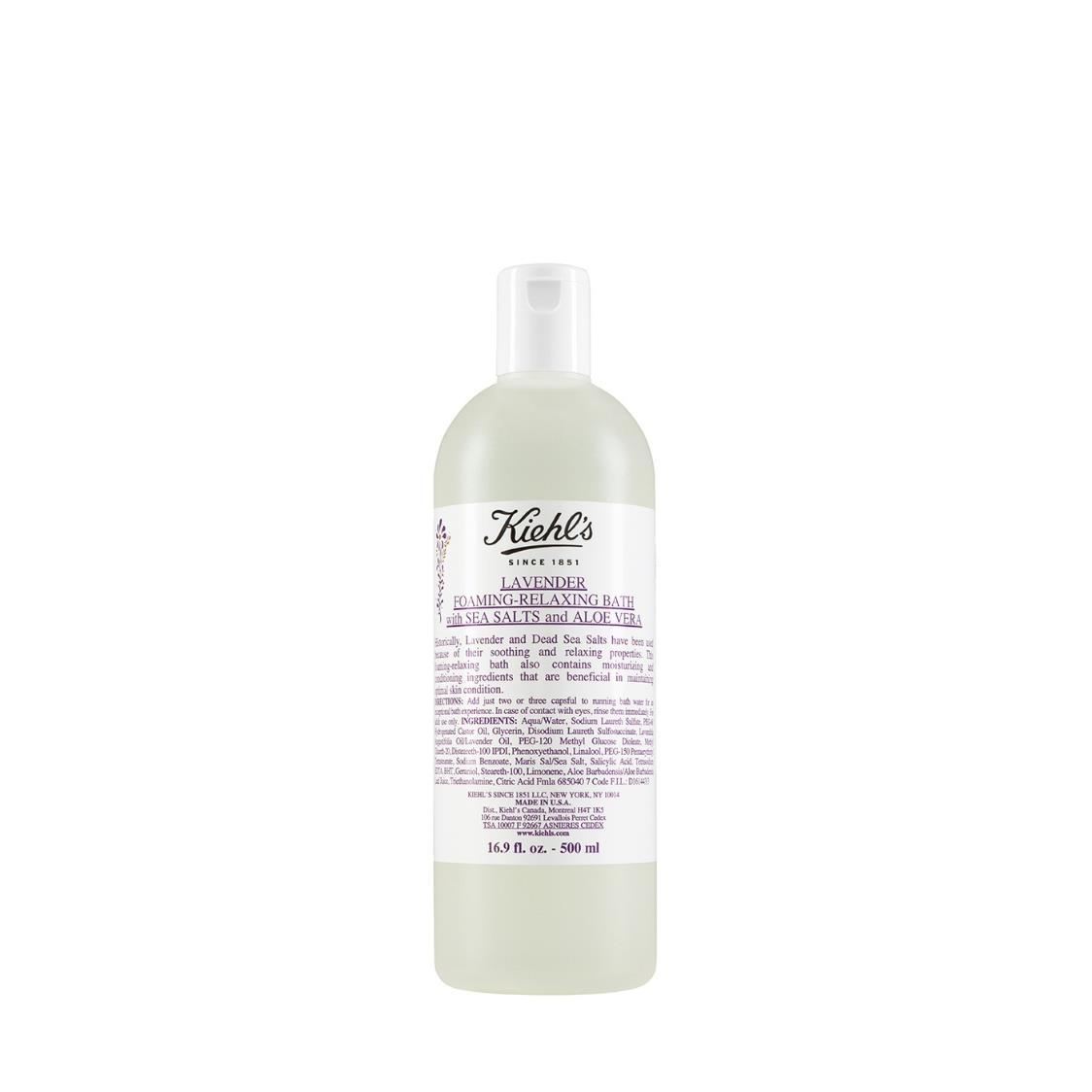 Lavender Bath With Sea Salts  Aloe Vera 500ml
