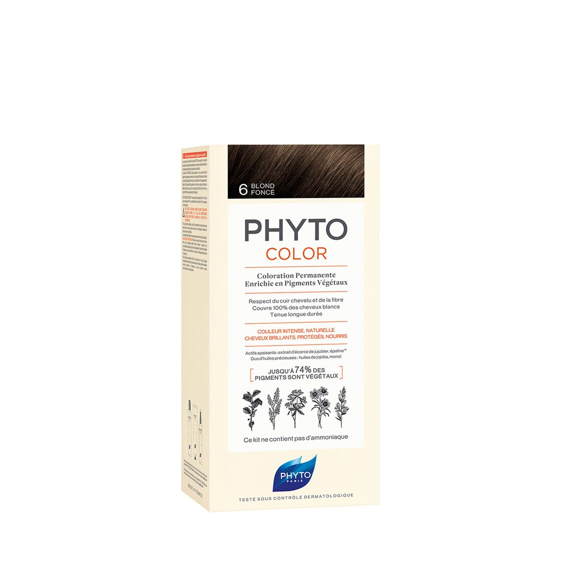 Phytocolor 6 Dark Blond Col Cr 50ml  Lot 50ml PH10023A99926