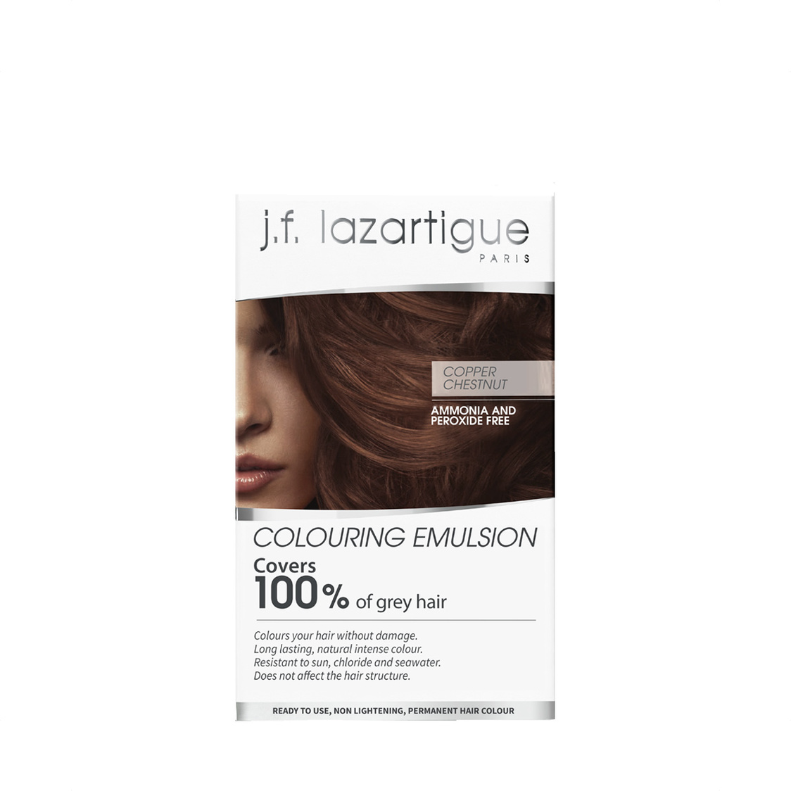Colour Emulsions For Grey Hair Chestnut Copper 60ml