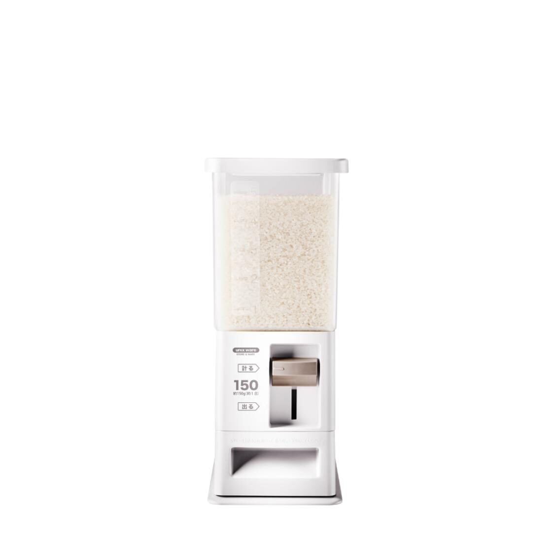 Unix Ware Rice Stocker White 6kg 7504