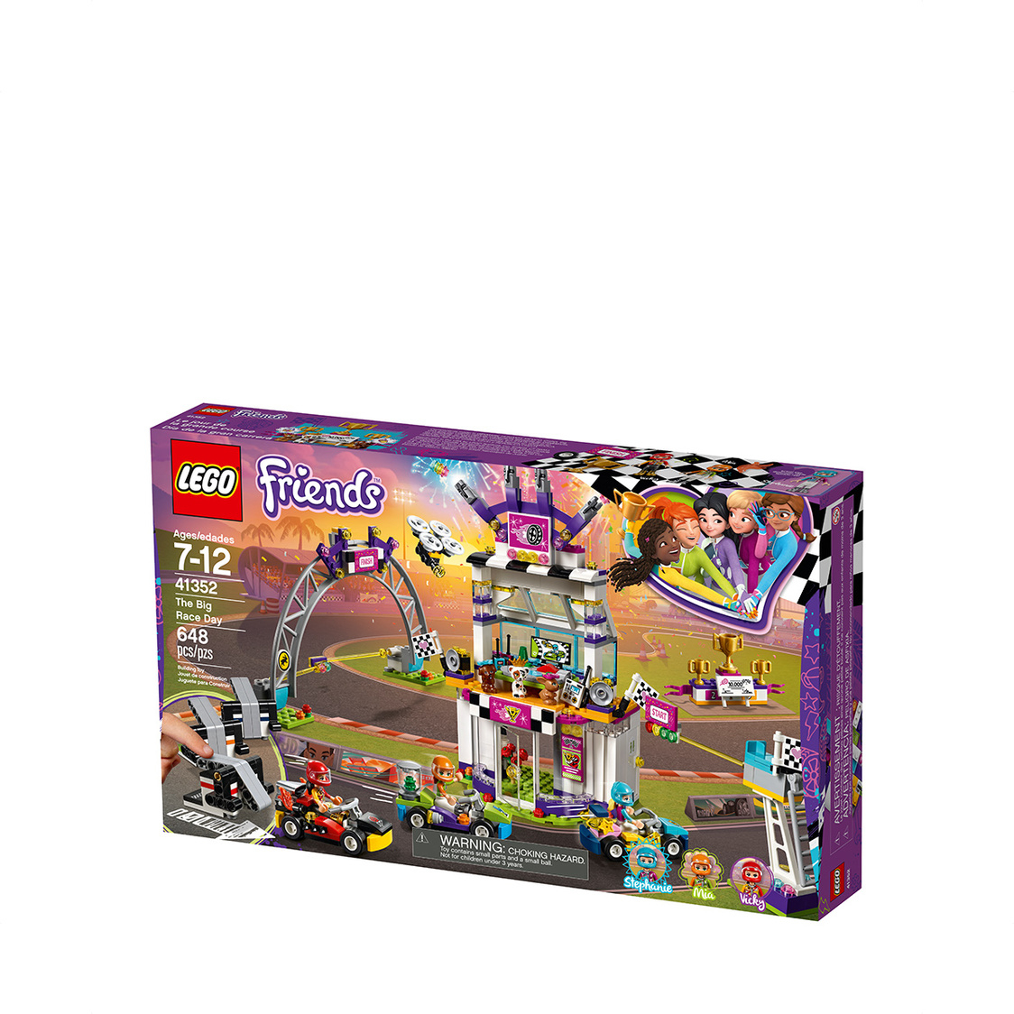 The Big Race Day Lego Friends 41352