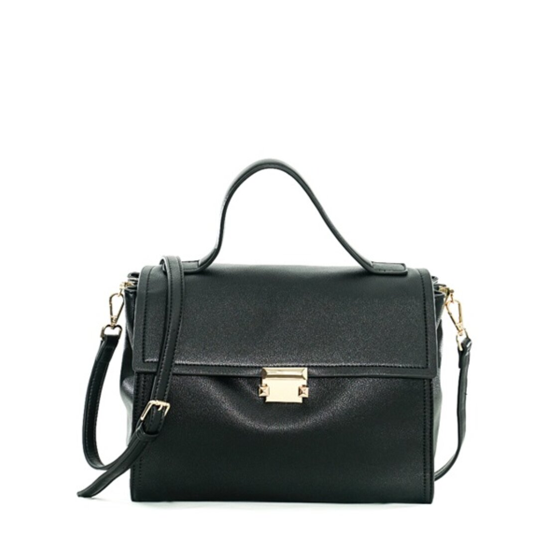 Renoma Medium Shoulder Bag Black