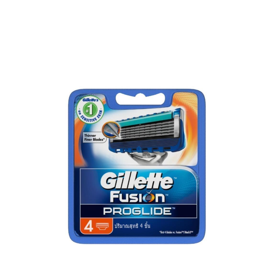 Fusion ProGlide MANUAL Mens Razor Blades 4 Count