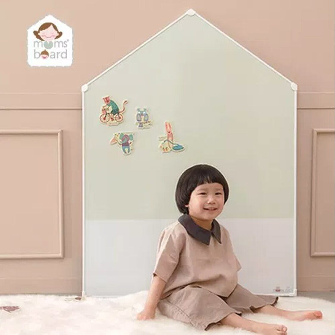 Premium Magnetic Board - Jeje House AddM - Green