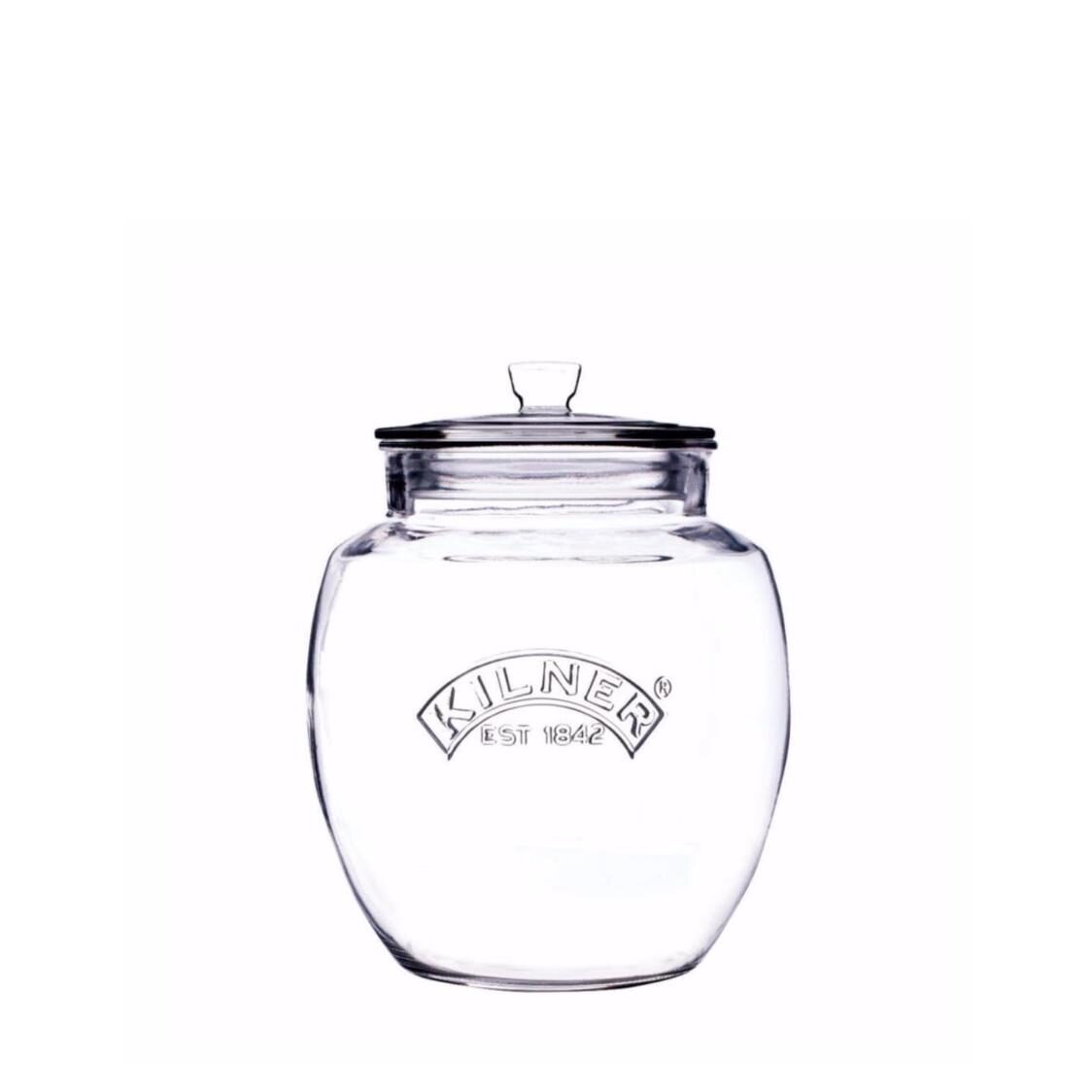 Push Top Universal Storage Jar