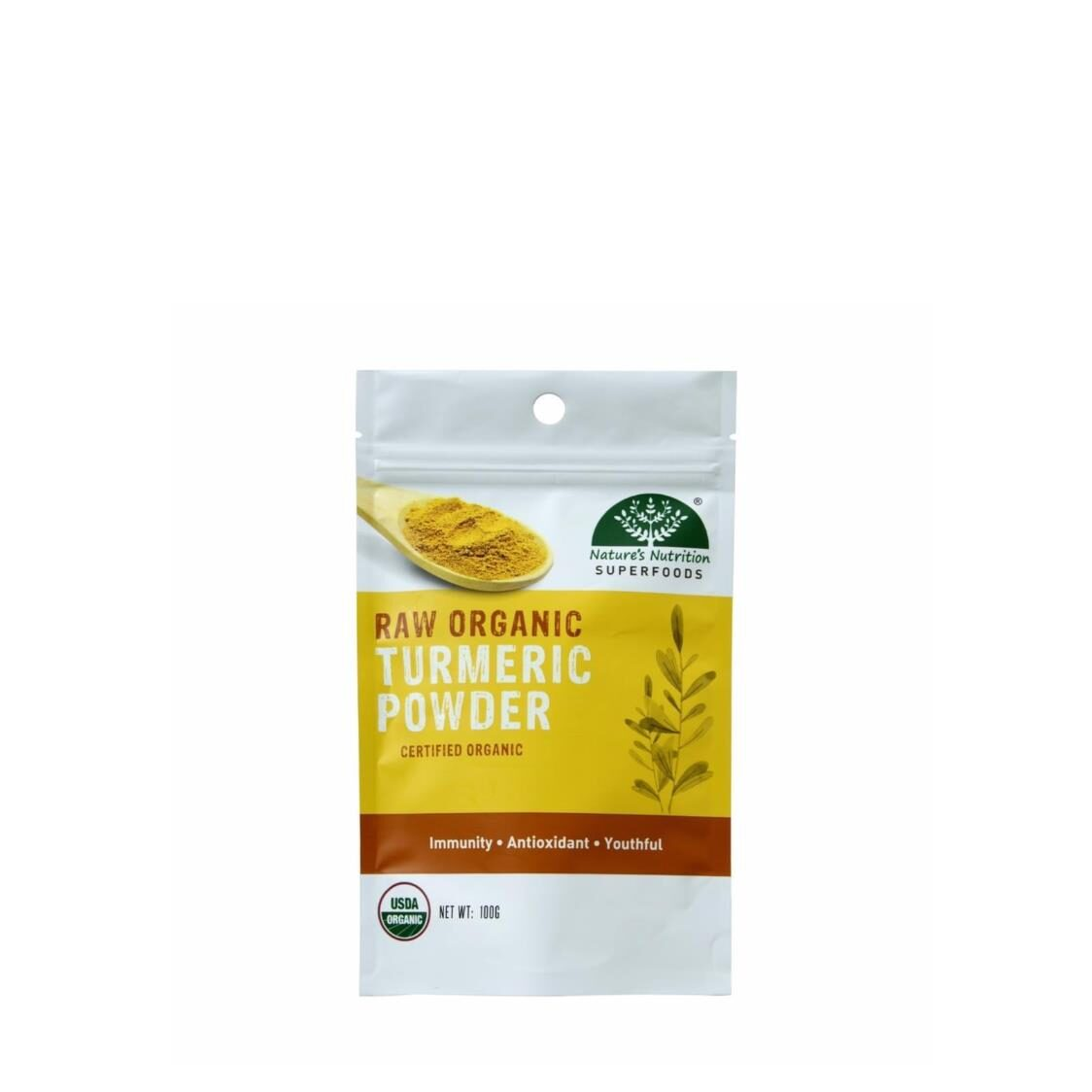 Natures Nutrition Organic Turmeric Powder 100g