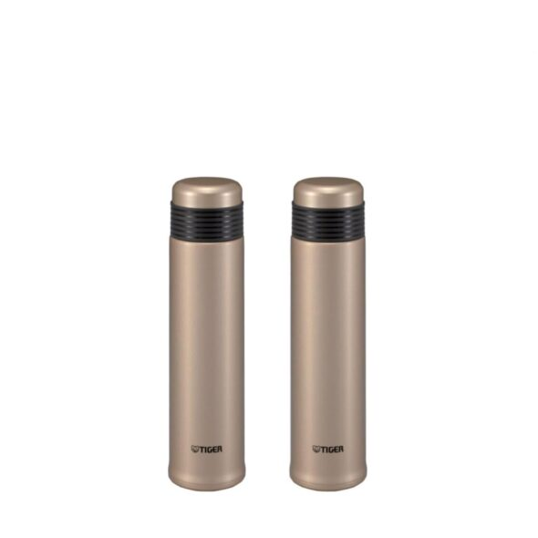 Tiger 500ml Double Stainless Steel Bottle 2pc Bundled Set MSE-A050