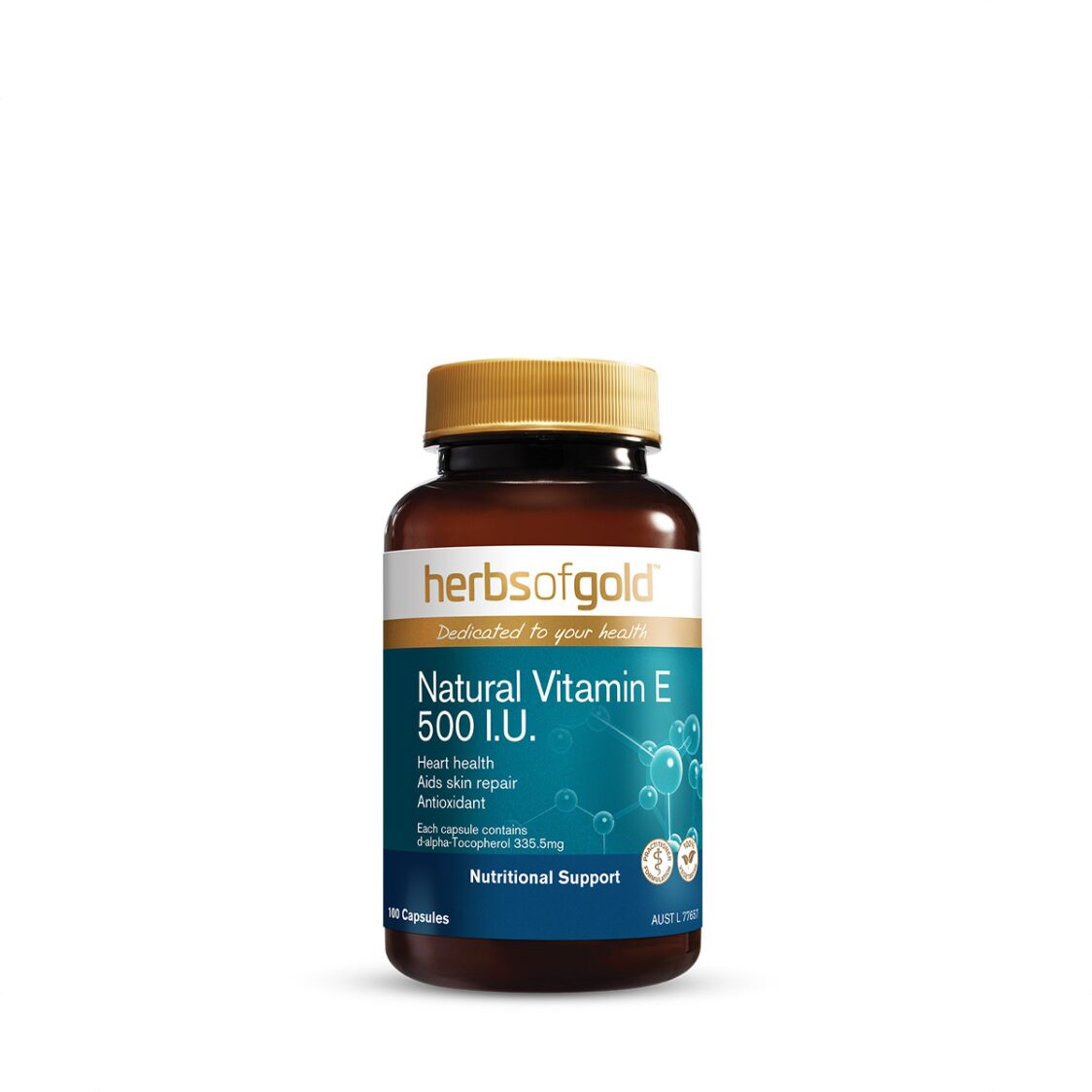 Natural Vitamin E 500 IU