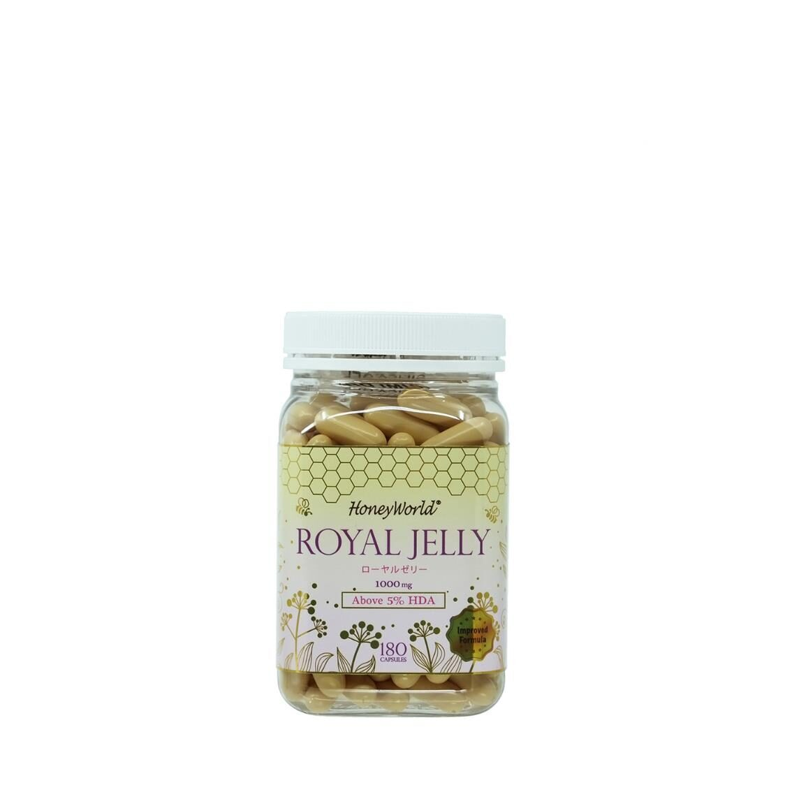 Japanese Royal Jelly Capsules 180S