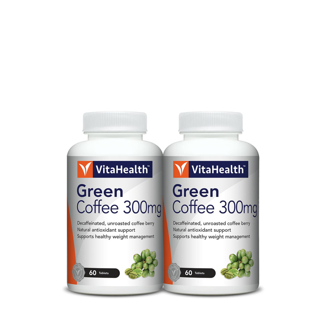 VitaHealth Green Coffee Berry 2x60 Tablets