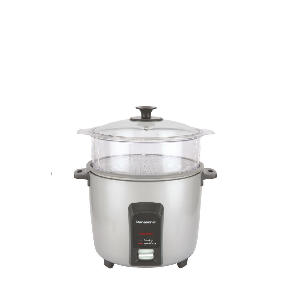Rice Cooker with Steamer SR-Y22F Silver 22L