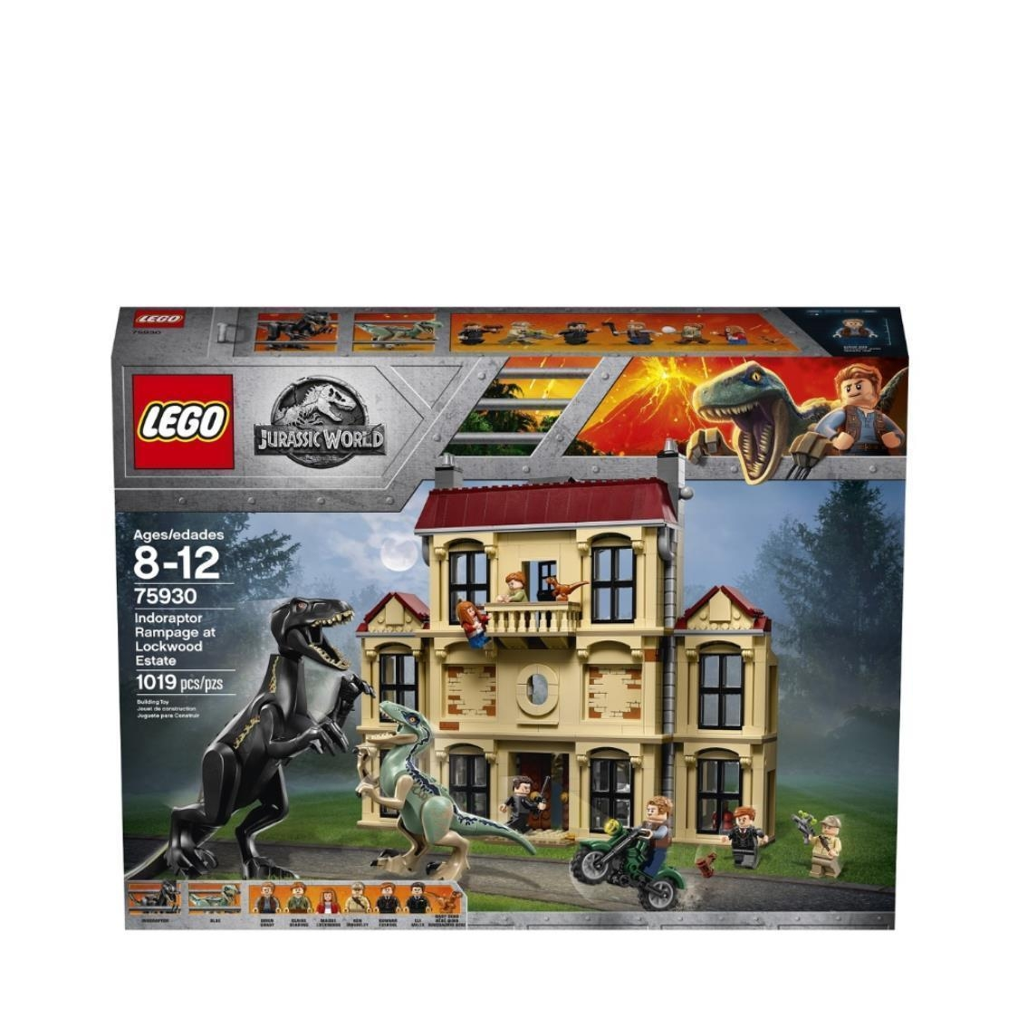 Indoraptor Rampage at Lockwood Estate 75930