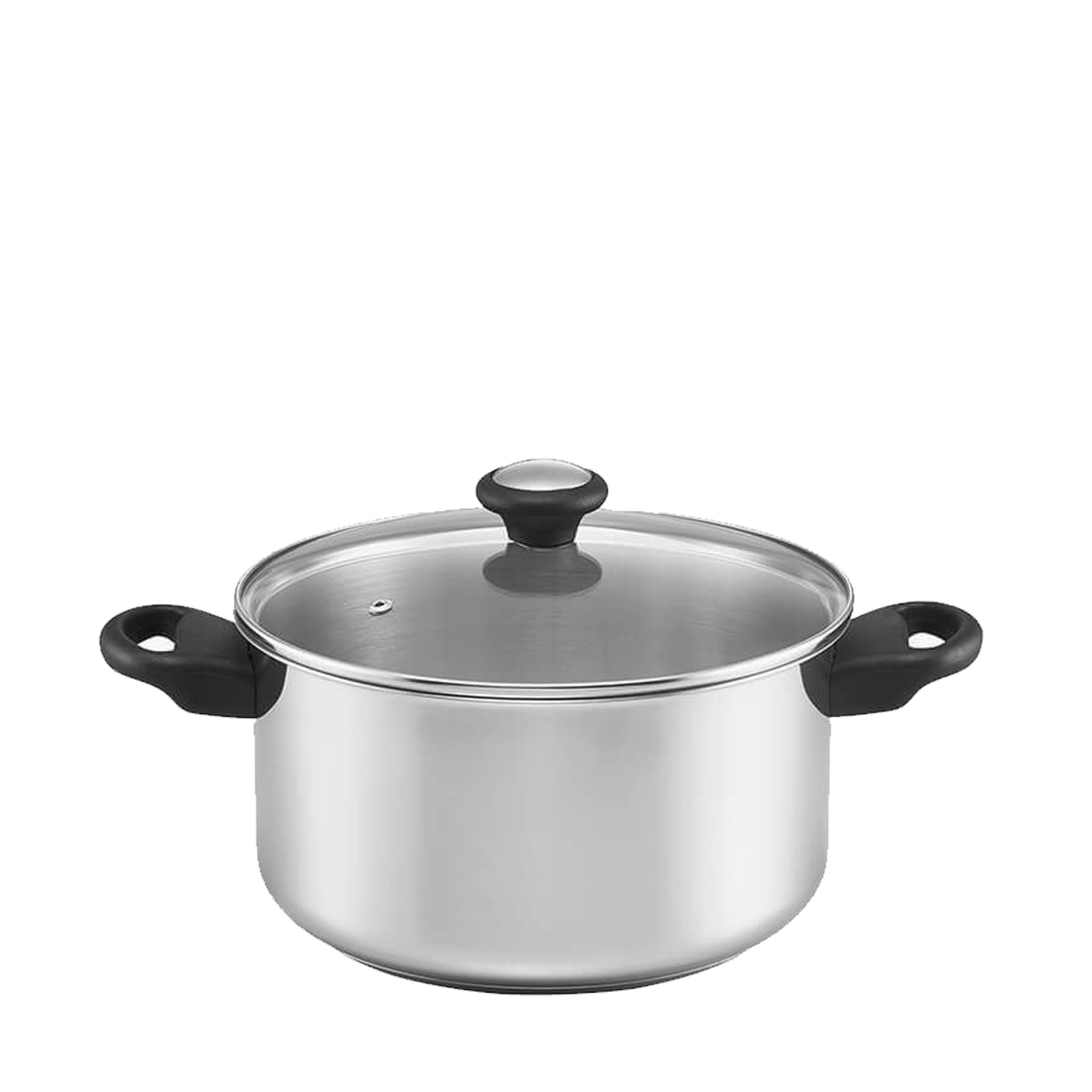 Good Stainless Steel 24cm 6QT Covered Stock Pot With Handles 70578