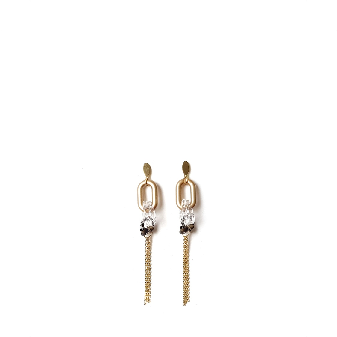 ZURI Earrings GOLDENROD