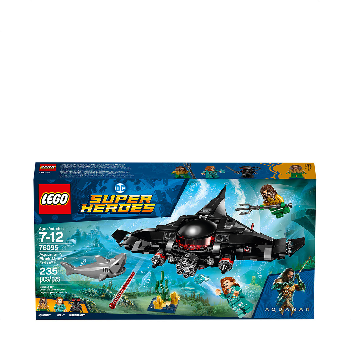 Aquaman Black Manta Strike 76095