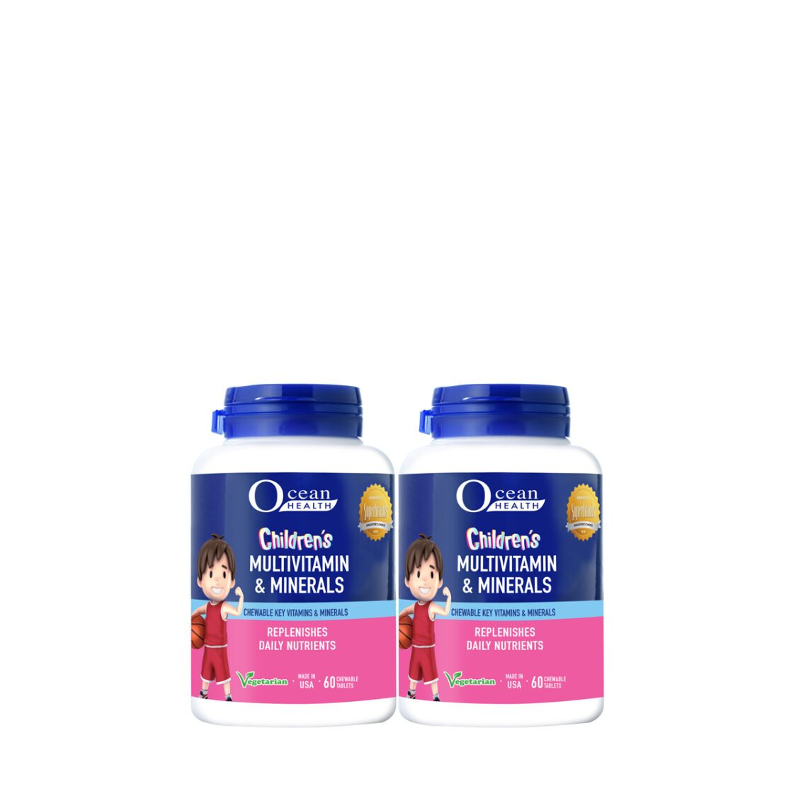 Child Multivitamin Chew Tab 2x60s