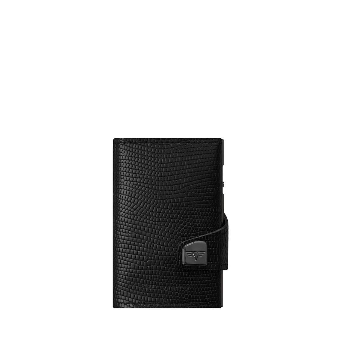 Wallet Click  Slide Black Iguana