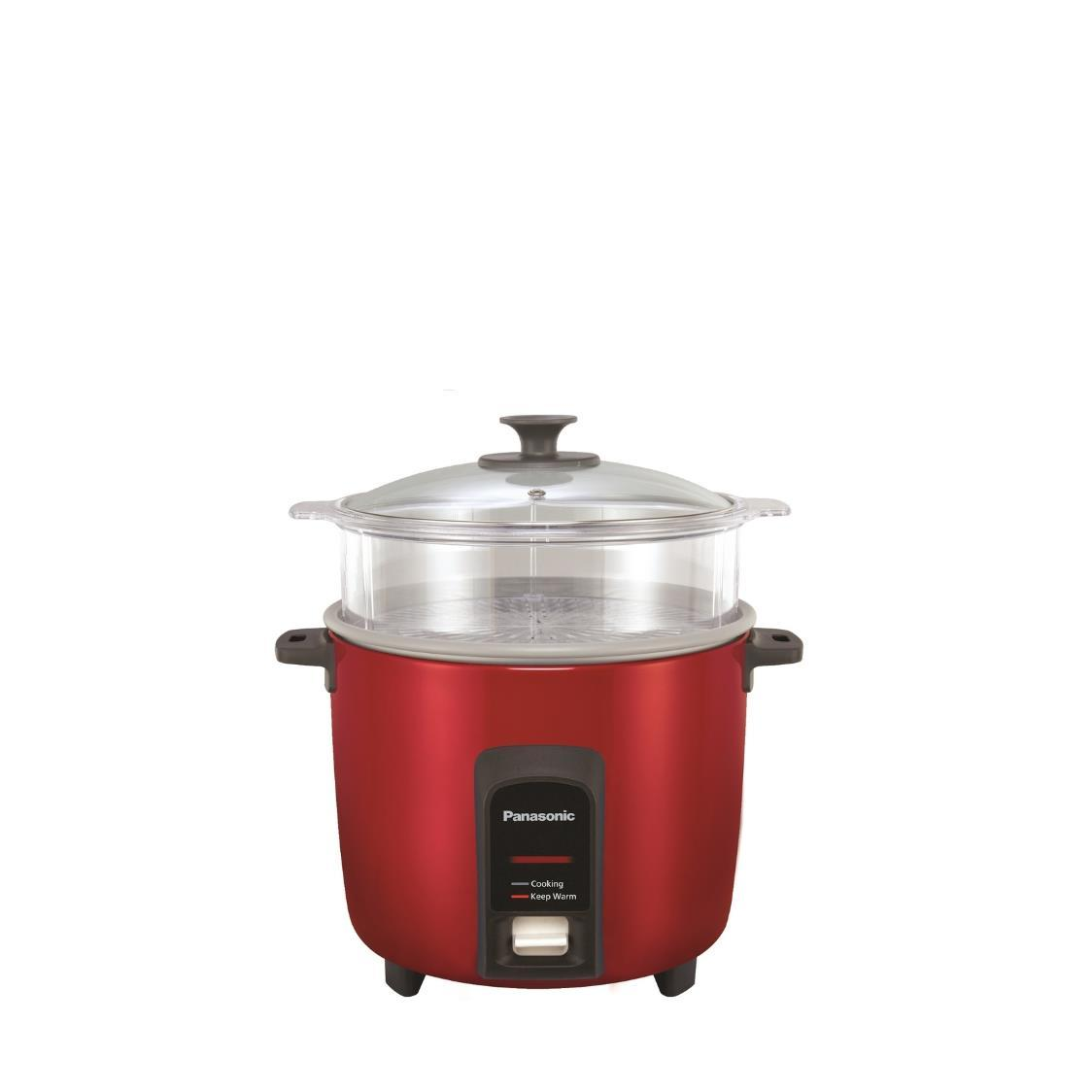 Rice Cooker with Steamer SR-Y22F Red 22L