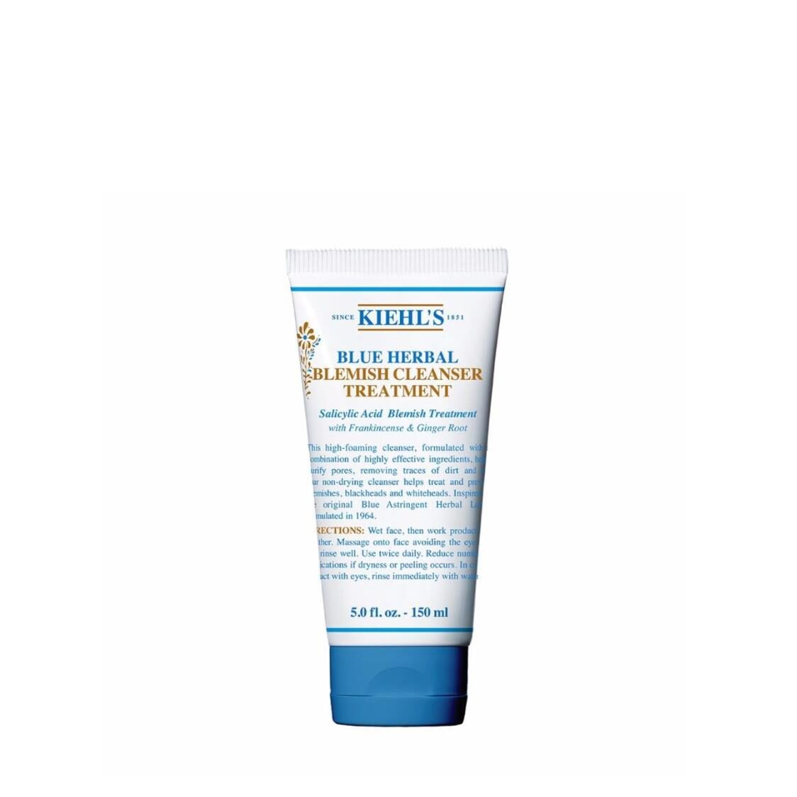Kiehls Since 1851 Blue Herbal Acne Cleanser Treatment 150ml