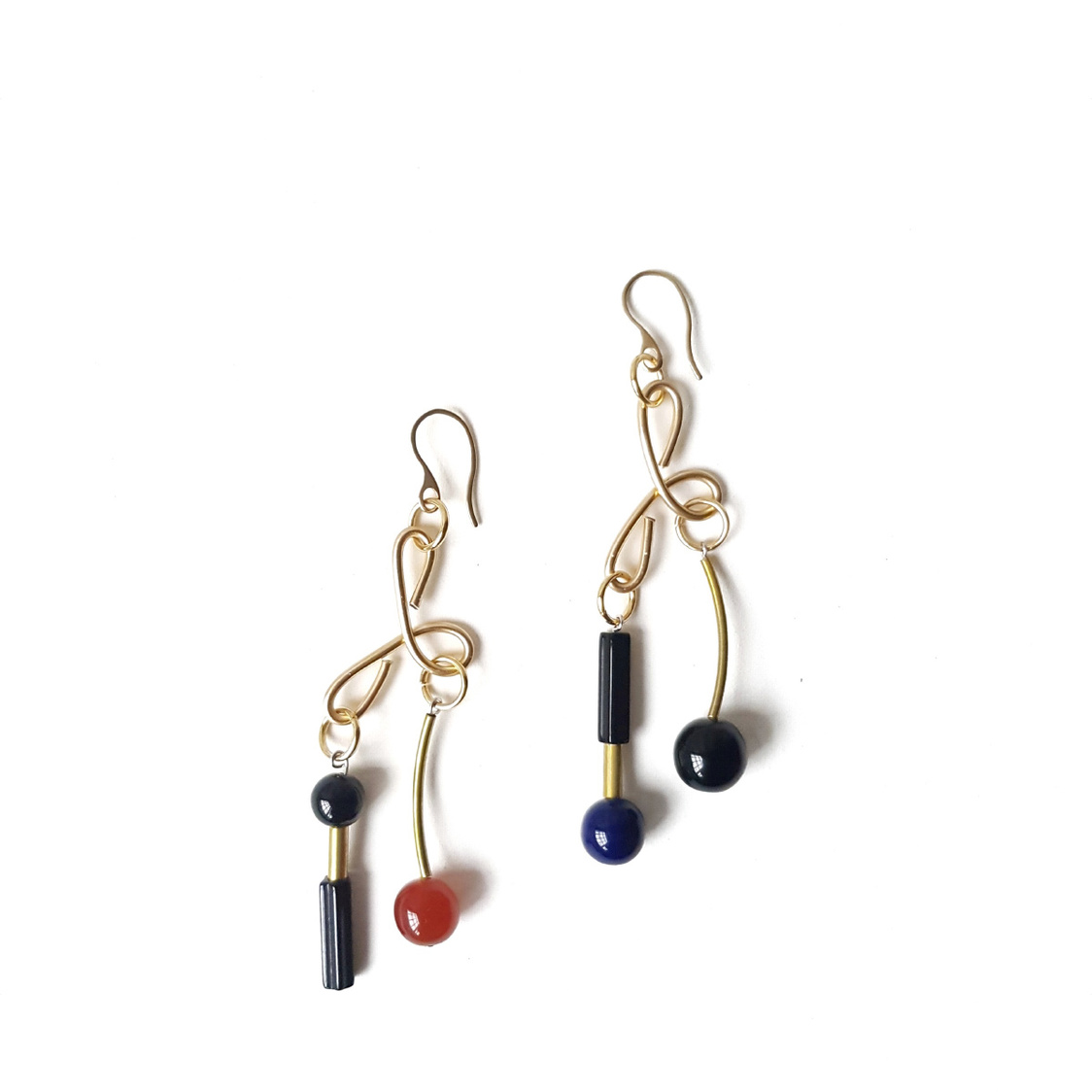 Debbie Earrings Noir