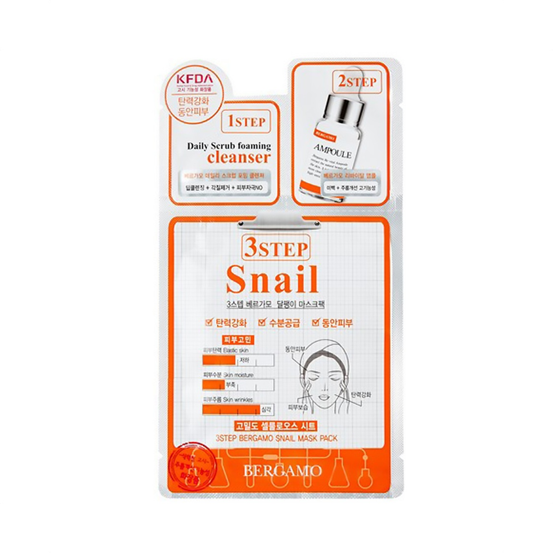 3 Step Mask - Snail 28ml