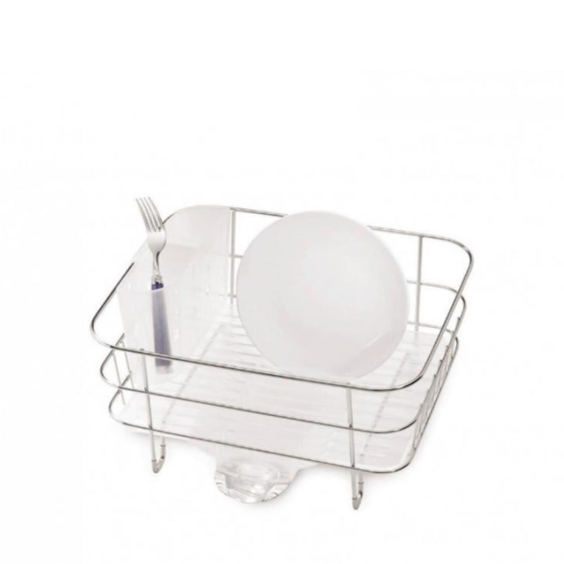 Compact Wire Dish Rack