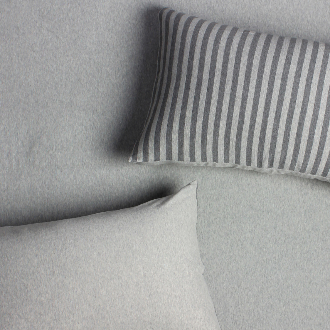 Jersey 700TC Fitted Sheet Set Grey