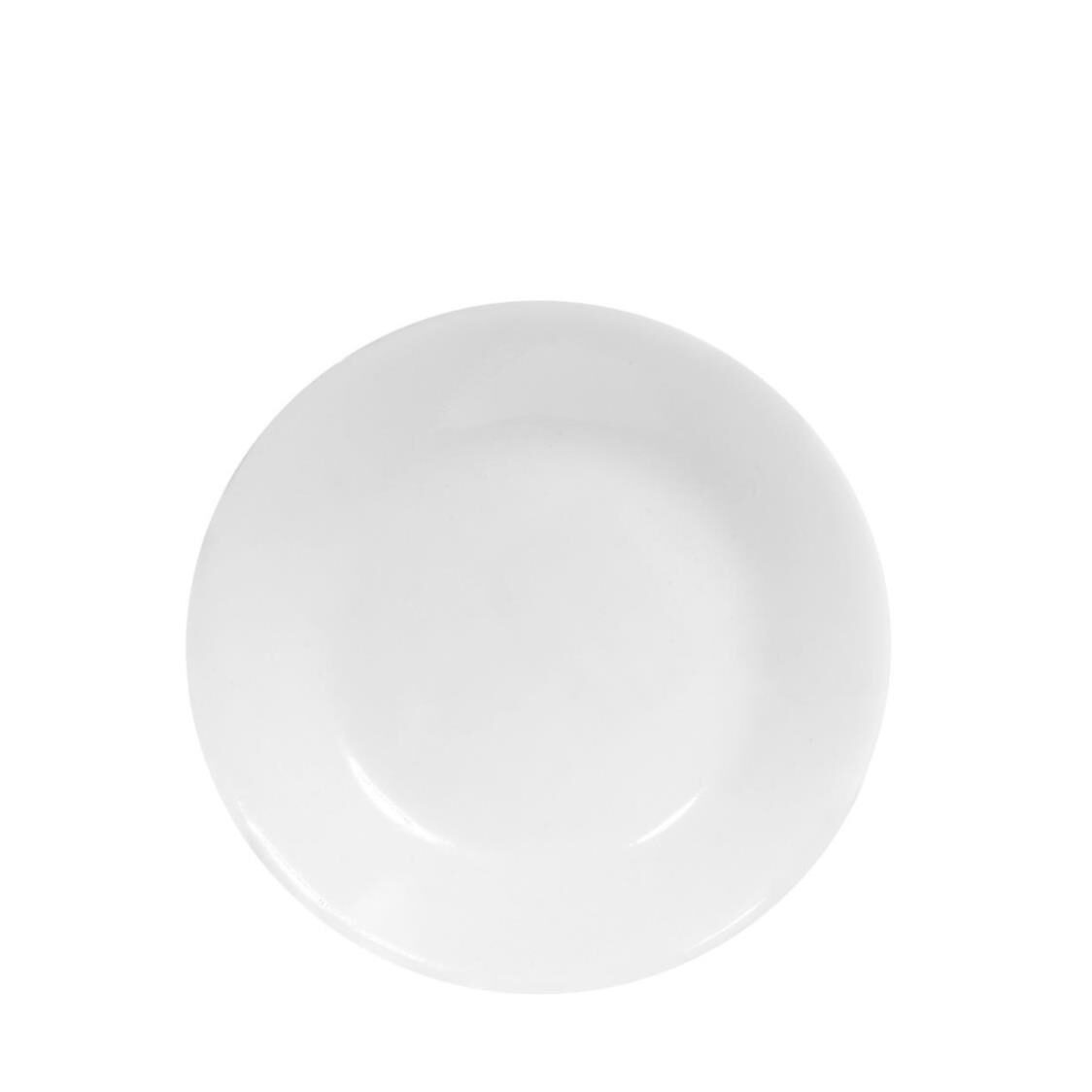 BreadButter Plate Winter Frost White