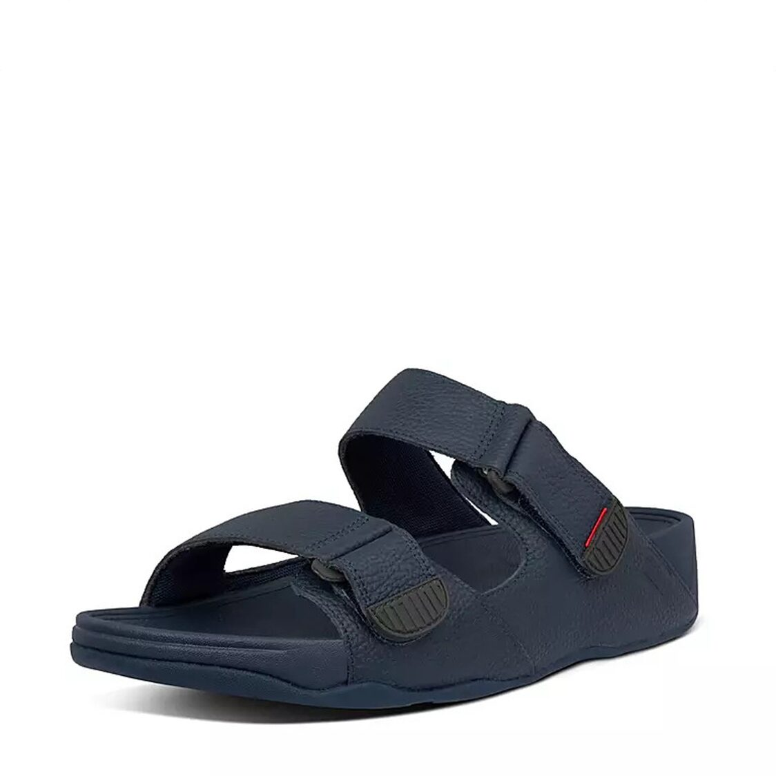 FitFlop Gogh Moc Slide In Leather Midnight Navy