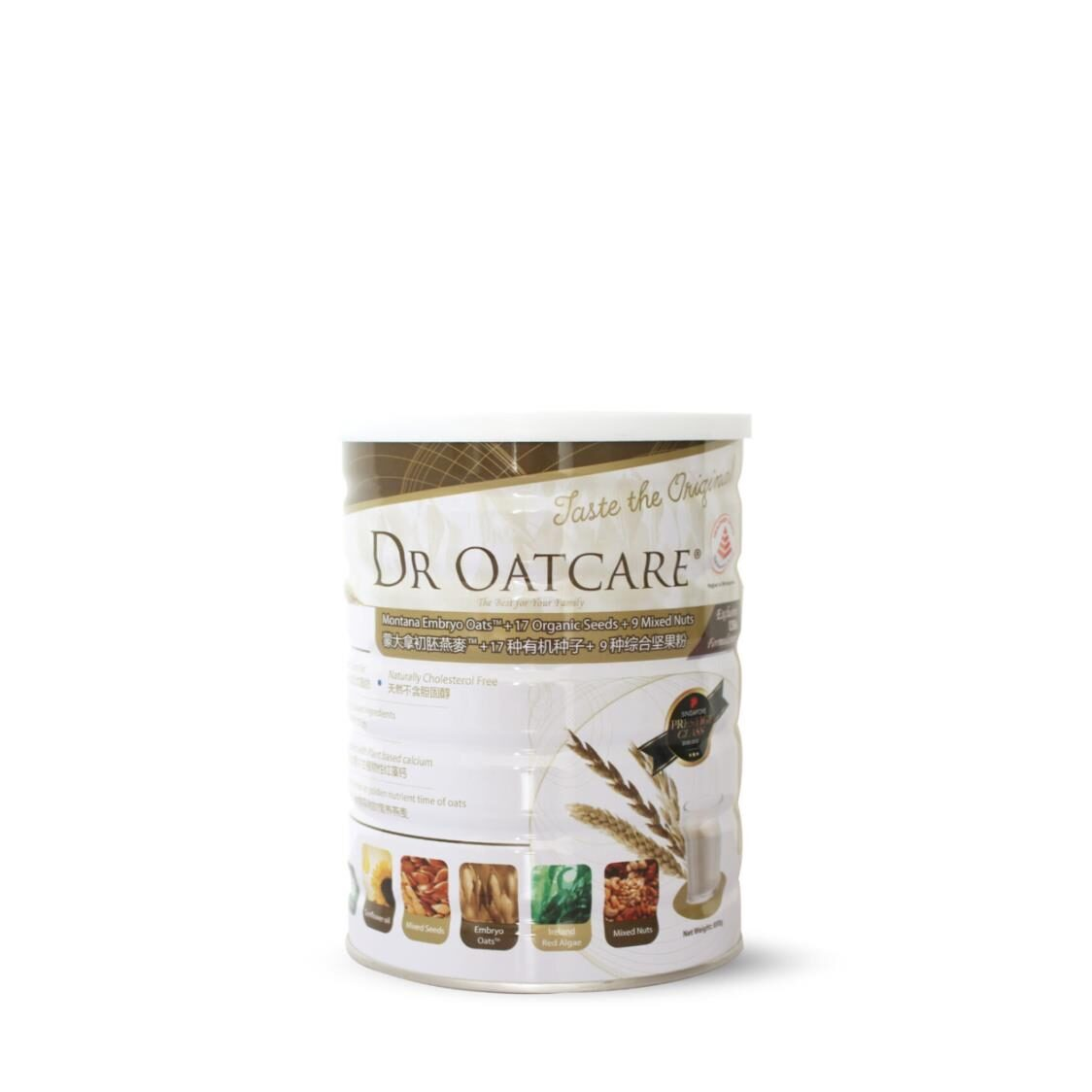 Dr Oatcare Tin 850g