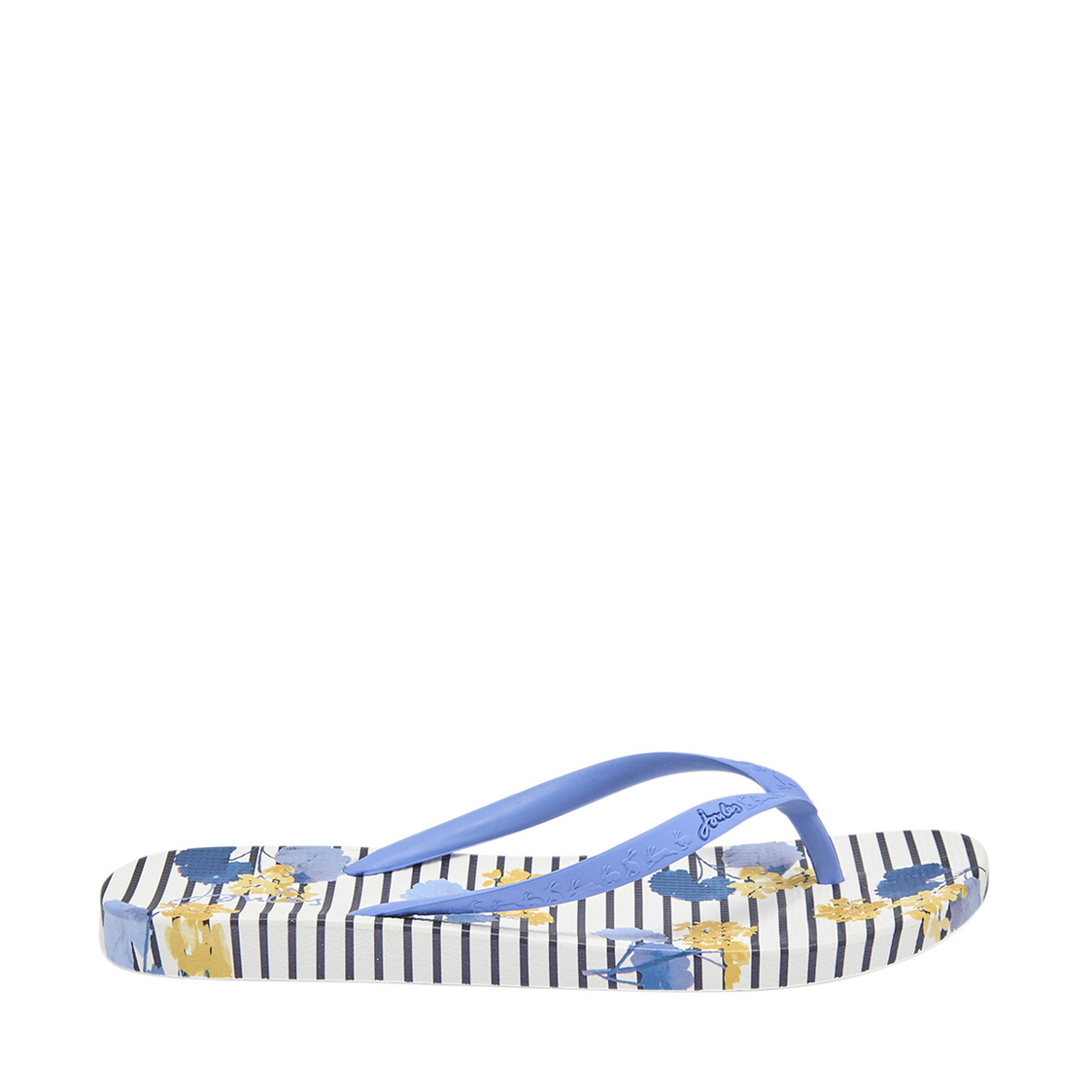 Flip Flops With Moulded Footbed Navy Lily Stripe