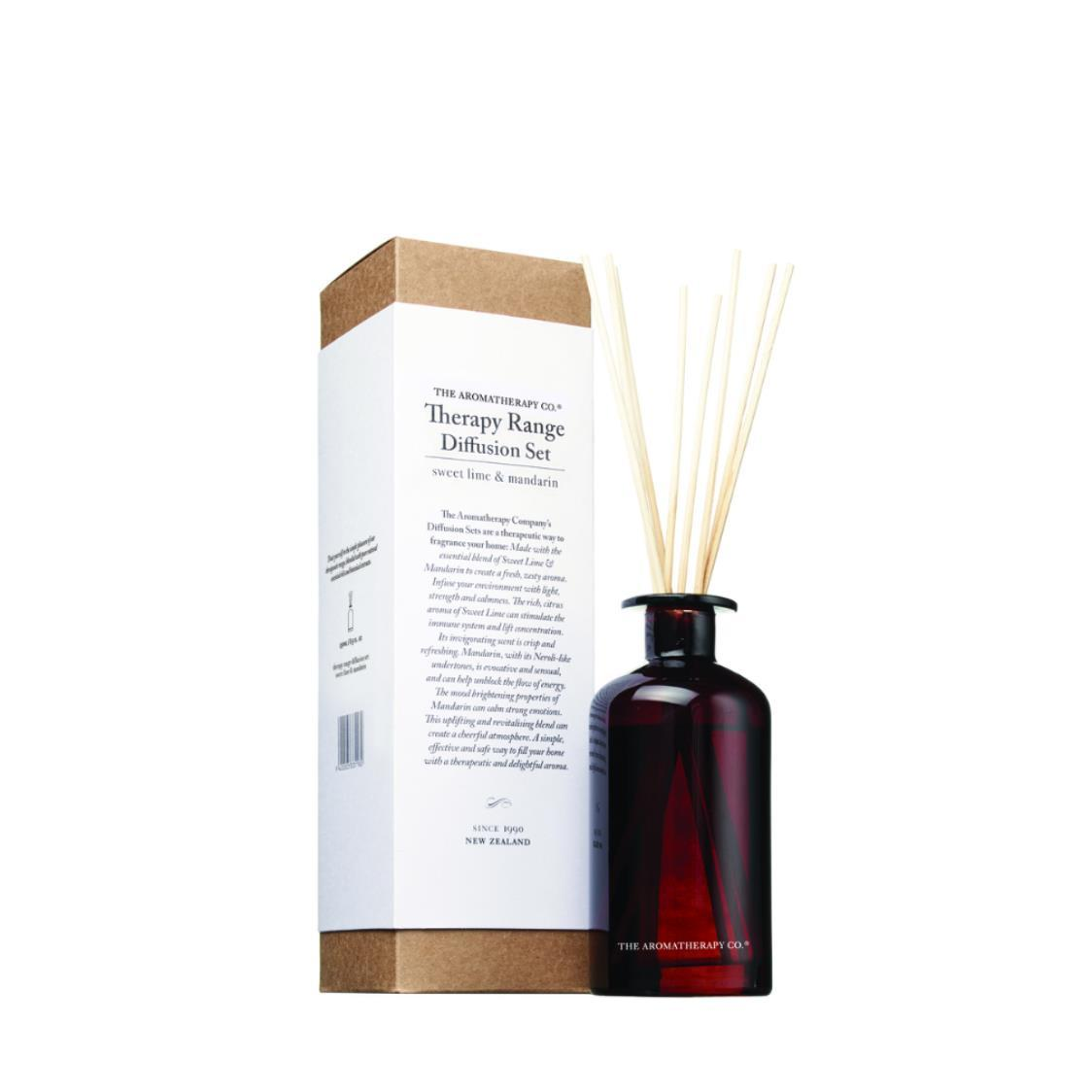 Therapy Diffuser 250ml Lime  Mandarin