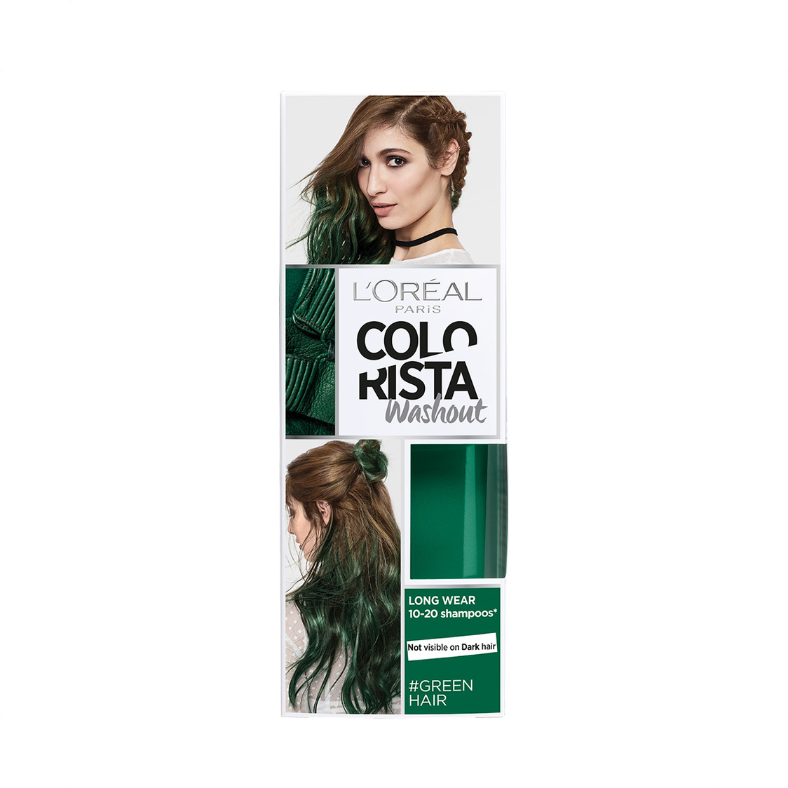 Colorista Washout 20 Green 80ml