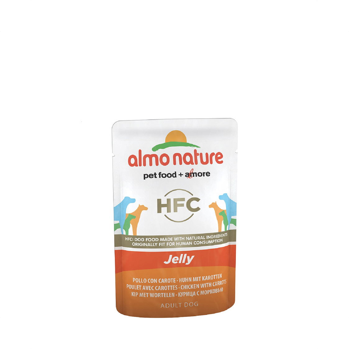 Chicken  Carrot Dog Jelly 70g