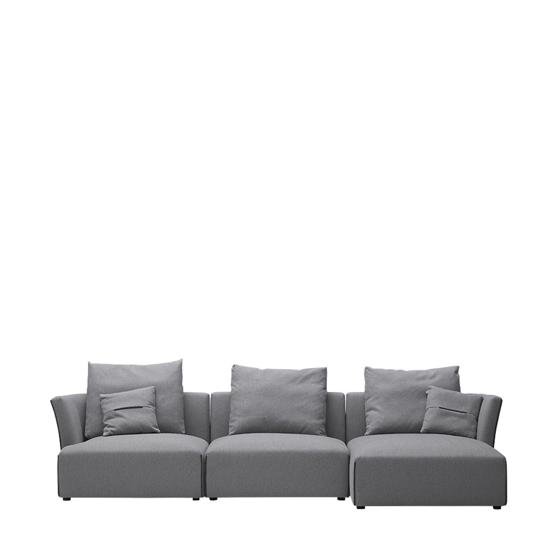Bergen Couch Right Fabric HCS744CRF-2P1