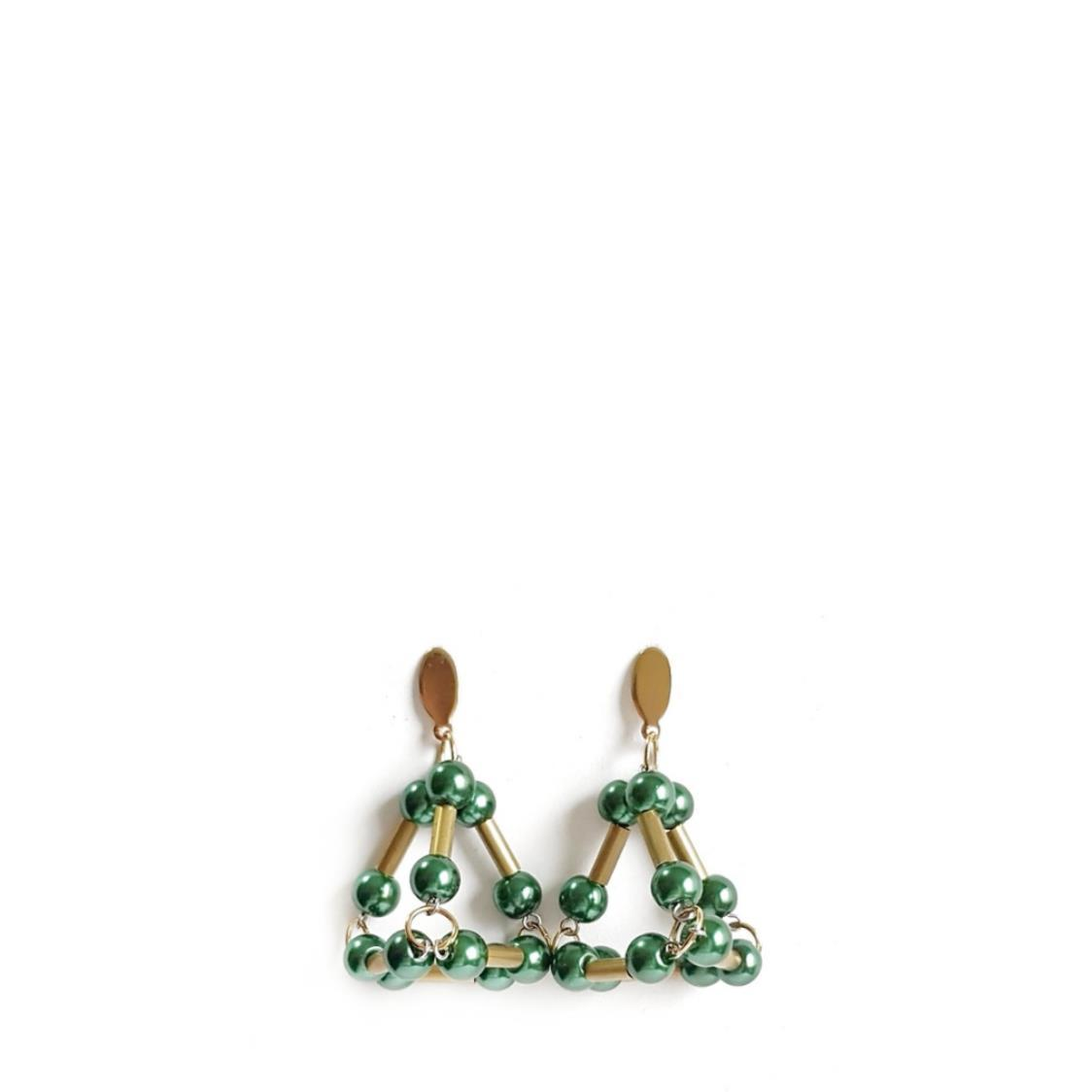 SETH Earrings EMERALD